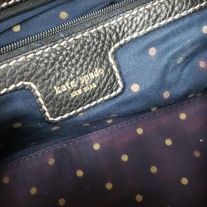 kate spade Bags - Kate Spade black leather barrel bag